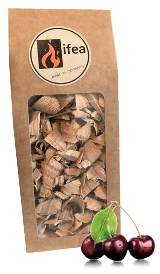 Räucherchips Kirsche - Premium - 0,75l