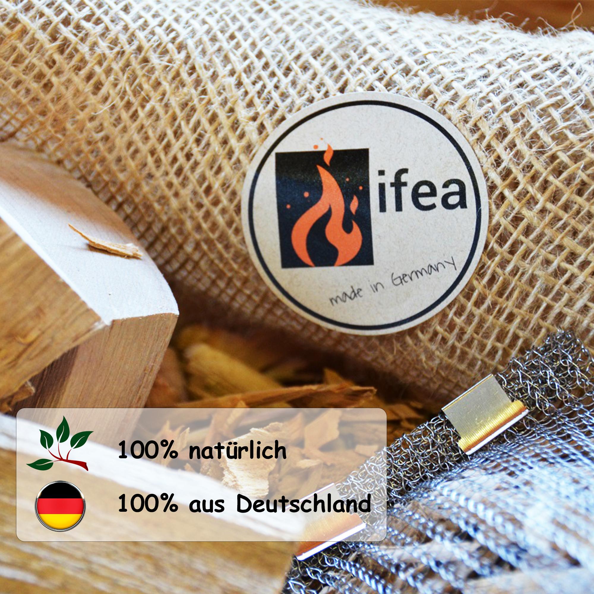 Räucherchips Apfel - Premium - 0,75l